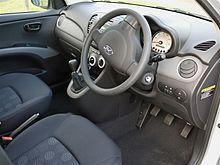 Hyundai i10 Comfort interior mick
